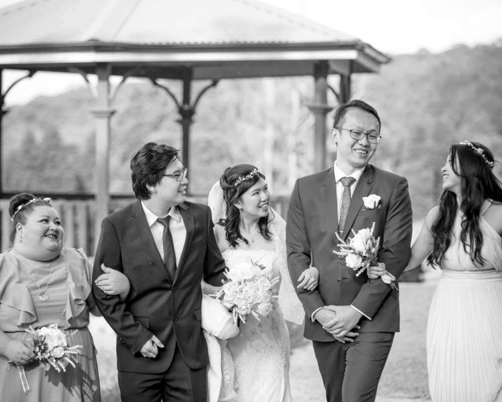 Mt Dandenongs - Bridal party