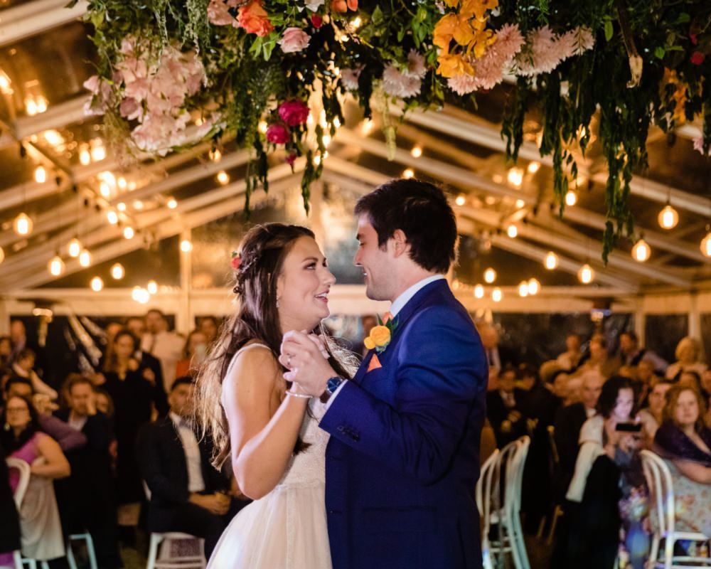 Collingwood Childrens Farm - Bride and Grooms first dance