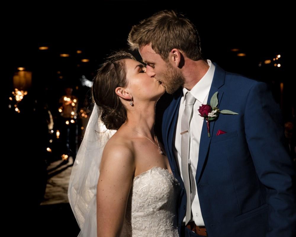 Flowerdale Estate - Bride and Groom end of night