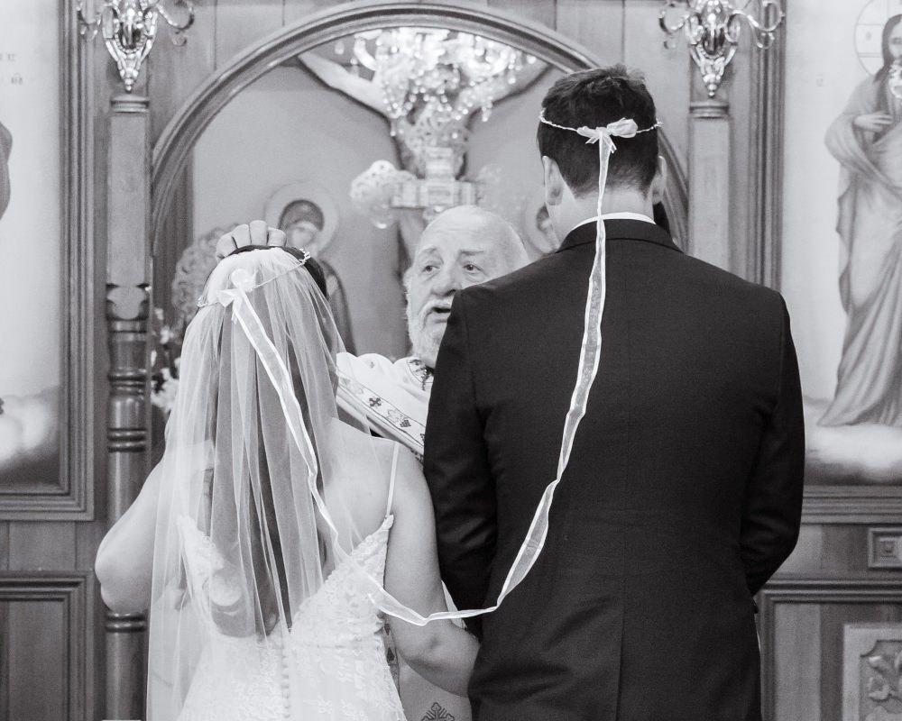 St Spyridon Greek Orthodox Church - getting married