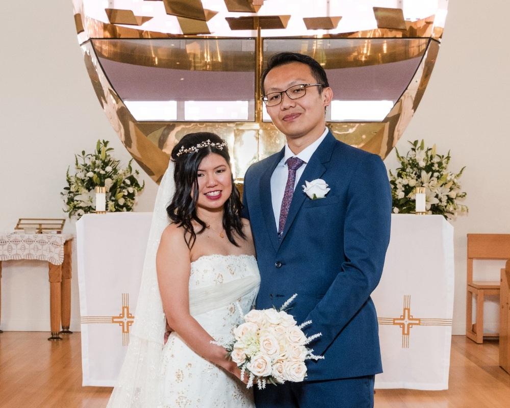 St Benedicts Catholic Church - Bride and Groom