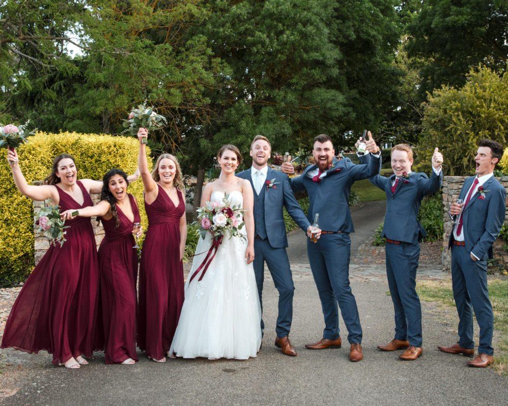 Flowerdale Estate - Bridal party