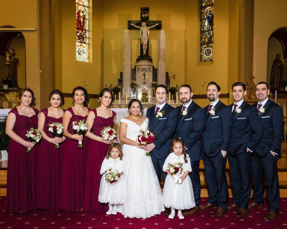St Fidelis Catholic Church Coburg - Bridal Party