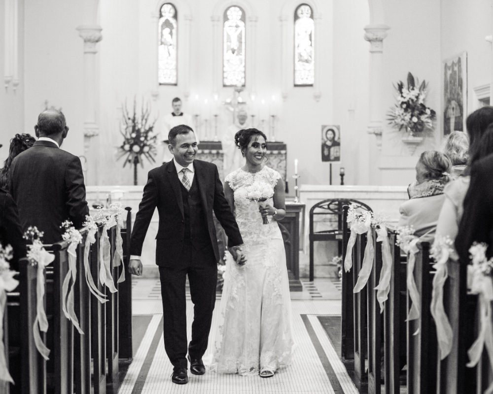 Christ Church Anglican Church Brunswick - Just married