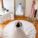 Wedding dress, bridesmaids dresses, brides accessories