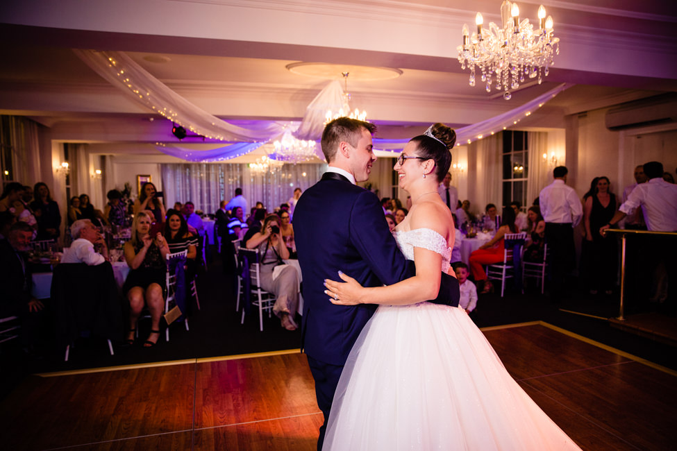Alexandra and Jonathan's first dance