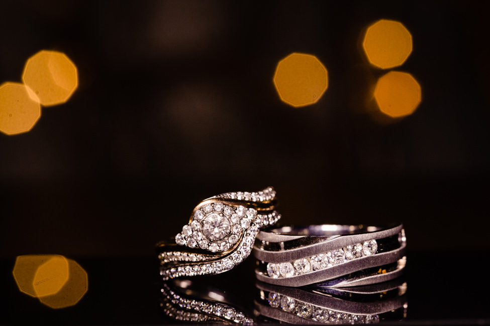 Alexandra and Jonathan's wedding rings