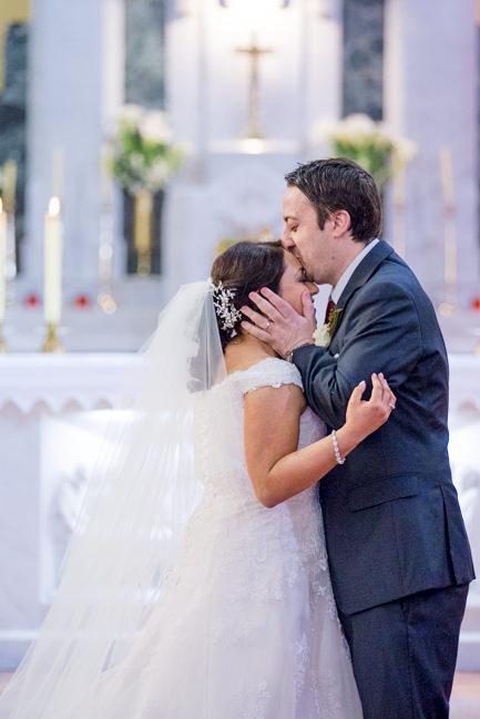 Rachel and Michael's lovig embrace