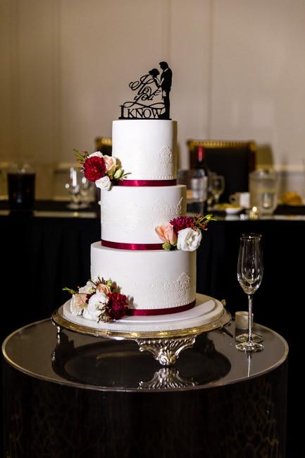 Rachel and Michael's cake