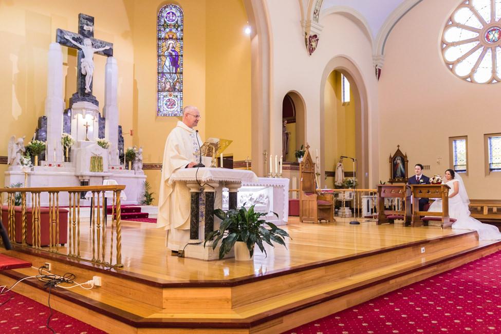 Priest's ceremony homily
