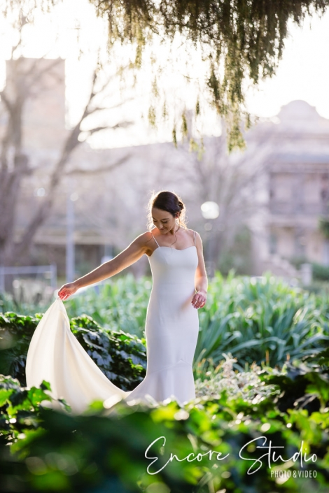 Bride at Carlton Gardens